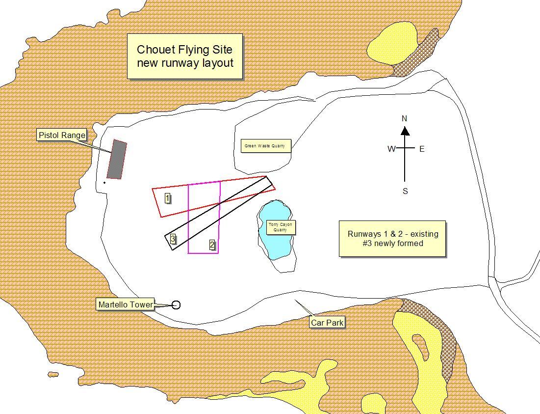 chouet runways